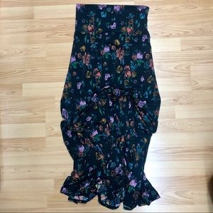 Floral Maxi Skirt Like Brand New